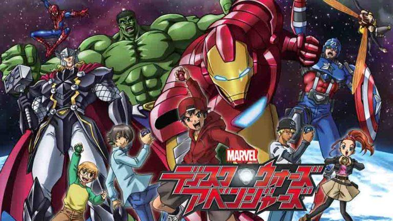 marvel disk wars the avengers batch subtitle indonesia